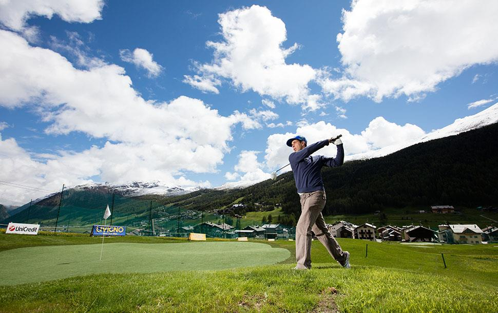 Golf a Livigno