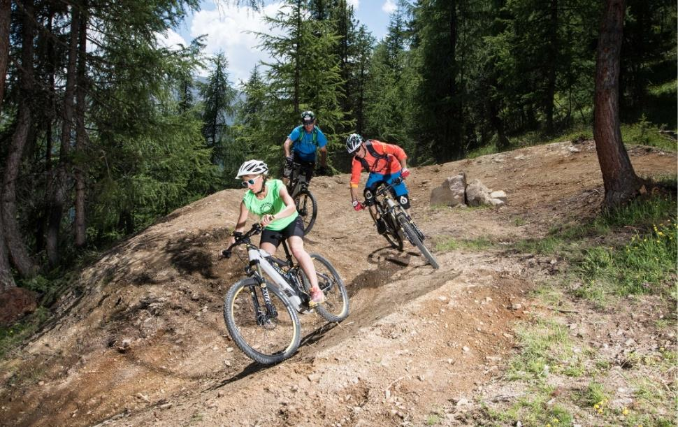 Mountainbike a Livigno